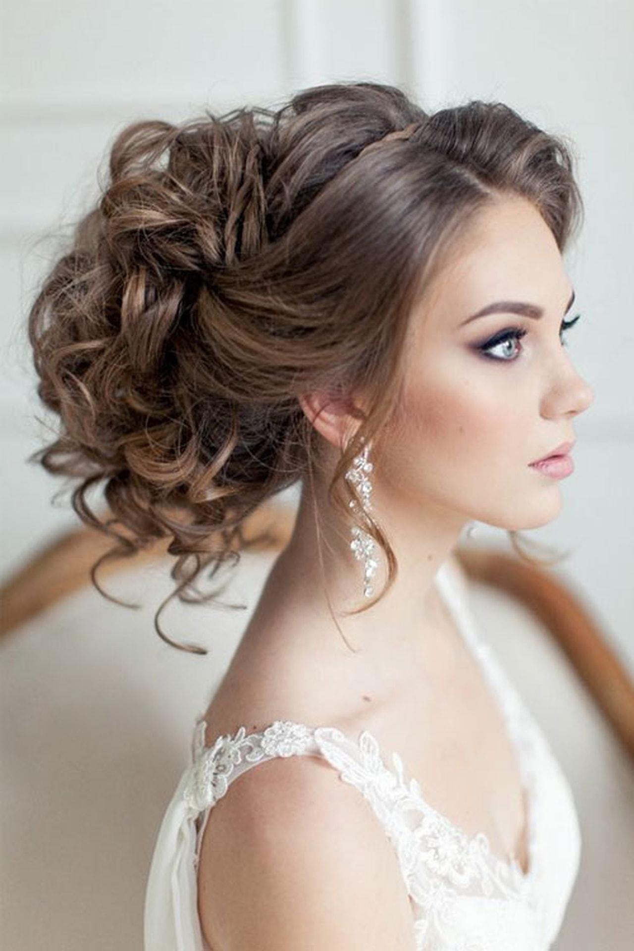 صور تسريحات شعر عروس , اجمل تسريحات الشعر للعرايس