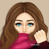 صورة بنات كيوت رسم , اجمل الرسومات لبنات كيوت