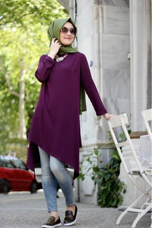 صورة ملابس تركية للمحجبات , اشيك الملابس التركية للحجاب