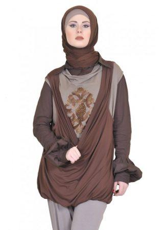 صورة لبس بنات محجبات , اجمل لبس للمحجبات