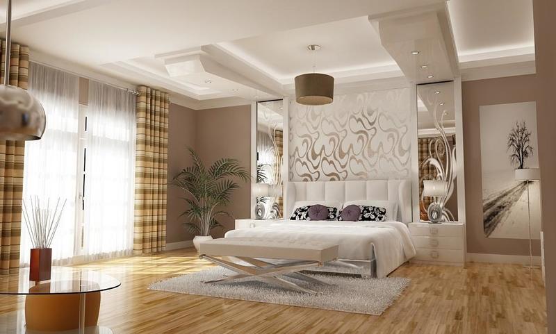 صورة ديكورات غرف النوم الرئيسية , ديكورات غرف نوم روعه