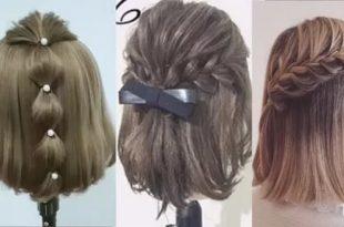 صورة موديلات شعر بسيطة , مديلات شعر مذهله