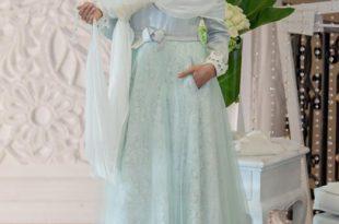 صورة فساتين سواريه محجبات , اجمل فستان للمحجبه فساتين سواريه