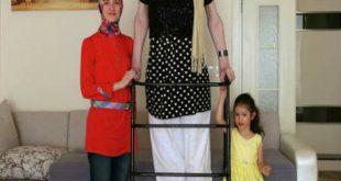 صور اطول امراة في العالم , اجمل صور لاطول امراه في العالم