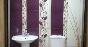 صورة سيراميك حمامات 2019 , موديلات سيراميك للحمام بالوان متنوعه