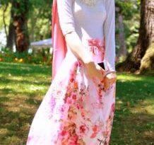 صورة ملابس محجبات تركية , افضل تصاميم لبس تركي للمحجبات