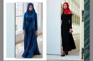 صورة ملابس بنات محجبات , تصاميم ملابس بنات بحجاب