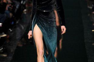 صورة موديلات فساتين مخمل , اروع تصاميم فستان مخمليه