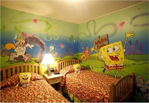 صورة ديكورات غرف اطفال , احدث اشكال ديكورات غرف للصغار