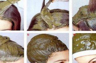 صورة خلطة حناء لتنعيم الشعر , وصفات حناء للقضاء على خشونة الشعر