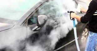صور تنظيف السيارة بالبخار , كيفية تنظيف السيارة بالبخار