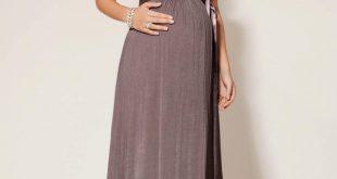 صورة فستان سهرة للحوامل , اجمل فساتين سهرة للحوامل
