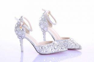 صورة احذية عرايس فخمة , اجمل واحلى احذية عرايس فخمة