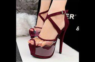صورة اجمل احذيه كعب عالي , احدث الحذية موديل جديد