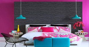 صور غرف نوم ملونة , اجمل واحلى غرف نوم ملونة