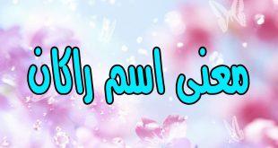 صورة معنى اسم راكان , ماذا يعني اسم راكان في اللغة العربية