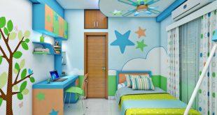 صورة ديكورات منازل بسيطة, ابسط الديكورات لغرف الاطفال