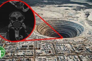 صورة حفرة نهاية العالم اعمق ,حفره وجدت في العالم