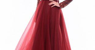 صورة فستان سهرة, لمسات ساحره لفساتين السهره