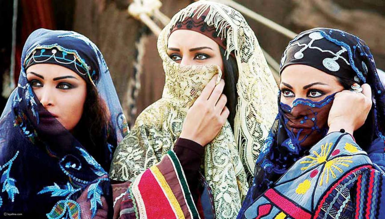 صورة بنات البدو ٫من اجمل الجمال الرباني جمال بنات البدو 994 8
